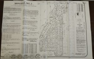 Montague Section 2 Plat Map